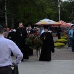 Во всех районах Республики православное духовенство с молодежью приходов приняло участие в митингах у мемориалов памяти погибших