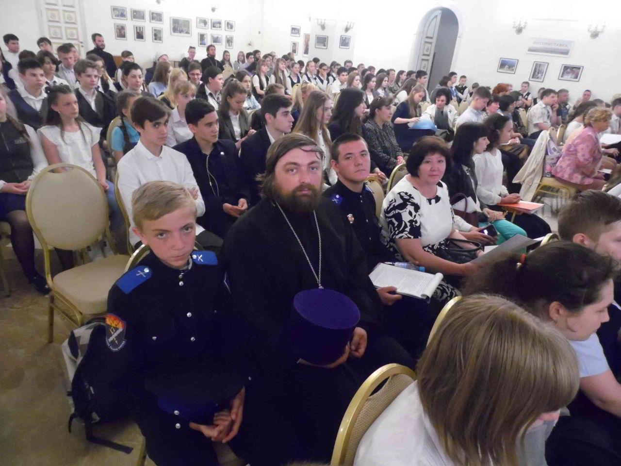 180516 Молодёжь Нальчикского благочиния приняла участие в V Евдокимовских чтениях